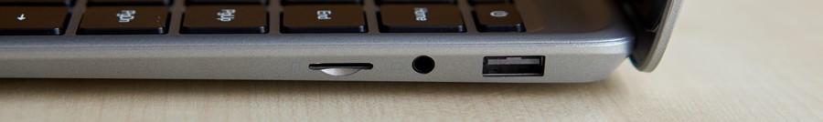 Chuwi HeroBook Pro - Csatlakozók - Jobbról
