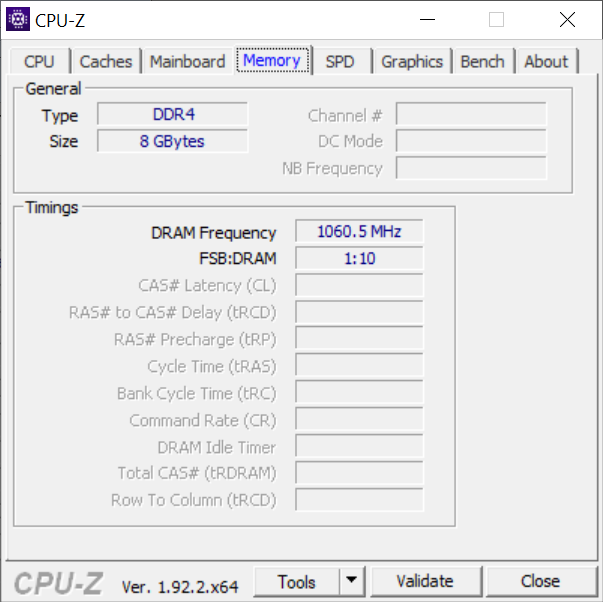 Chuwi HeroBook Pro - 8 GB DDR4 memória