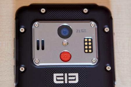 Elephone Soldier - hátlapi kamera