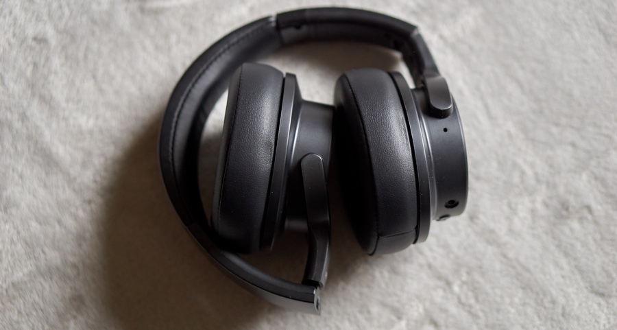 OneOdio A30 Teszt - Összecsukva