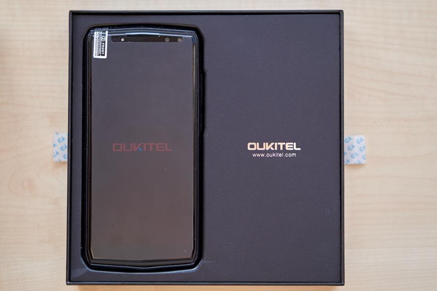Oukitel K10 doboz telefon