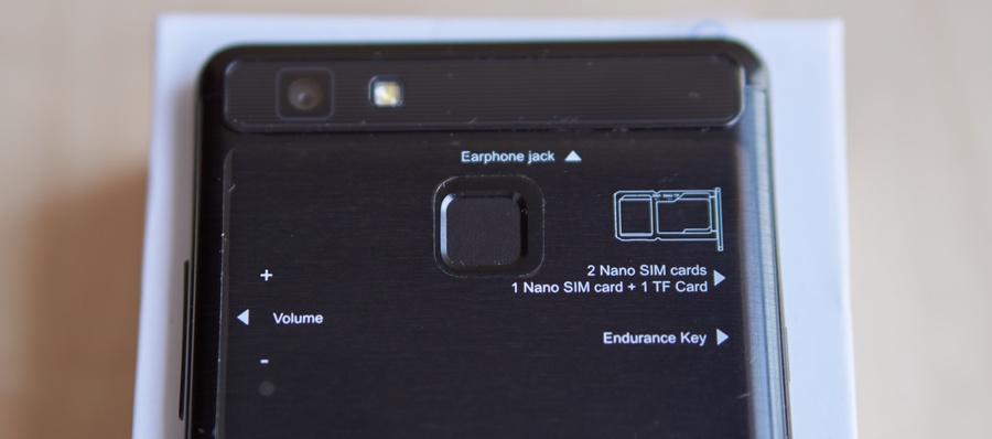 Vernee Thor E - E-ink mód SIM kártya
