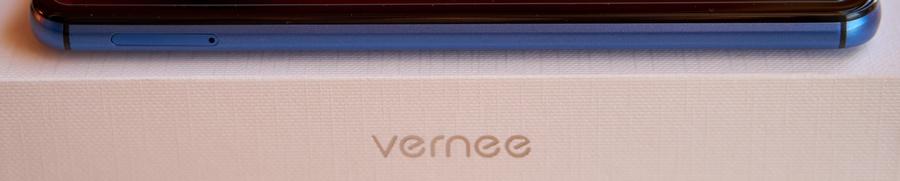 Vernee X bal oldal